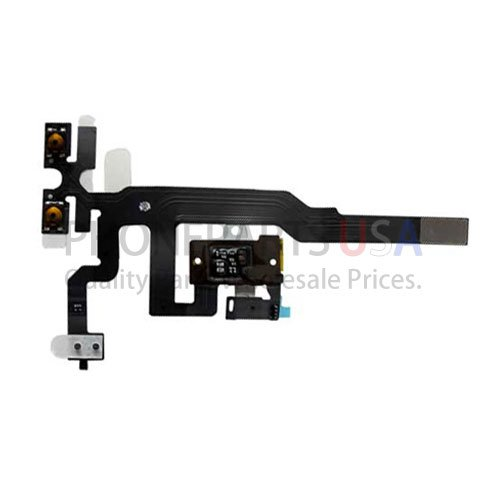 Ppusa Replacement Iphone 4S Headphone Jack Volume+Vibrator Switch Flex Ribbon Cable Us Seller