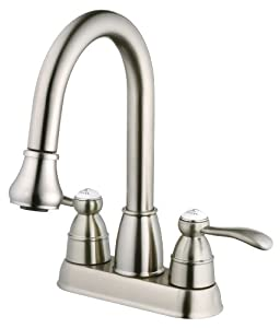 Belle Foret Bfn60001ss Pull Down Spray Laundry Faucet Stainless Steel Touch On Kitchen Sink