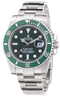 Rolex Submariner Green Dial Steel Men…