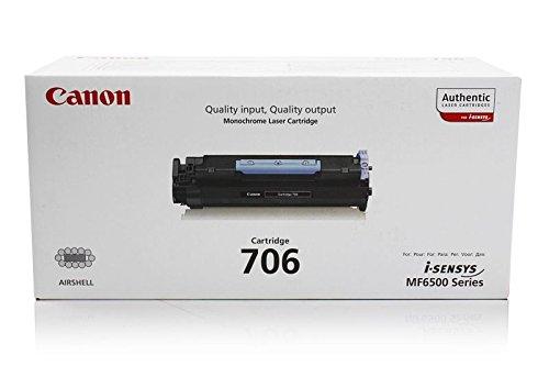 Canon I-Sensys MF 6560 pl - Original Canon 0264B002 / 706 - Cartouche de Toner Noir -