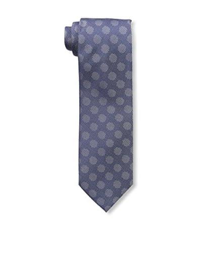 Bruno Piatelli Men's Printed Silk Tie, Blue