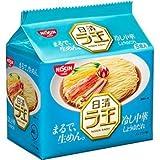 日清ラ王冷し中華5食パックx6個