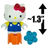 Hello Kitty W/ A Flower ~1.3 Mini-Figure: The World Of Hello Kitty Mega Bloks Figure Series [06]