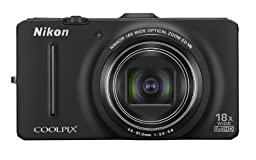 Nikon Coolpix S9300 16.0 MP Digital Camera - Black (Discontinued by Manufacturer)