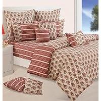 Swayam Shades Of Paradise Printed Cotton Single AC Comforter - Beige (ACS 11-7007)