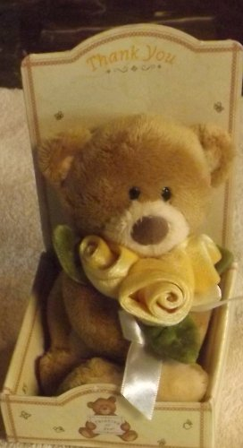 Gotta Getta Gund Mini Figurine Bear Thinking of You - 1