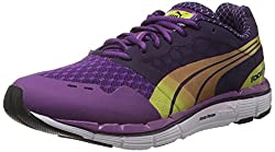Puma Womens Faas 500 Wns v2 Blackberry Cordial and Sparkling G Mesh Running Shoes - 3 UK/India (35.5 EU)