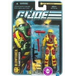 1 X G.I. Joe Pursuit of Cobra 3 3/4 Inch Action Figure Blowtorch