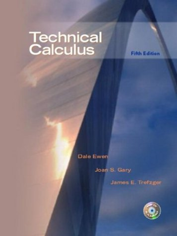 Technical Calculus (5th Edition)