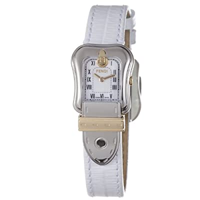 Fendi Women's F372244 Analog Display Swiss Quartz White Watch