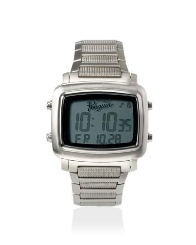 Original Penguin Men's 3036 SL Errol Silver/Grey Stainless Steel Watch