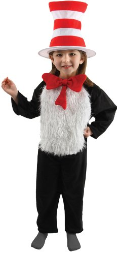 Cat in the Hat Deluxe Kids Costume