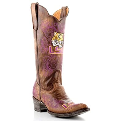 Gameday Ladies Louisiana State University Cowgirl Boot Pointed Toe by GameDay