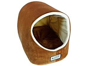 Armarkat Cat Bed, 18-Inch Long, Brown