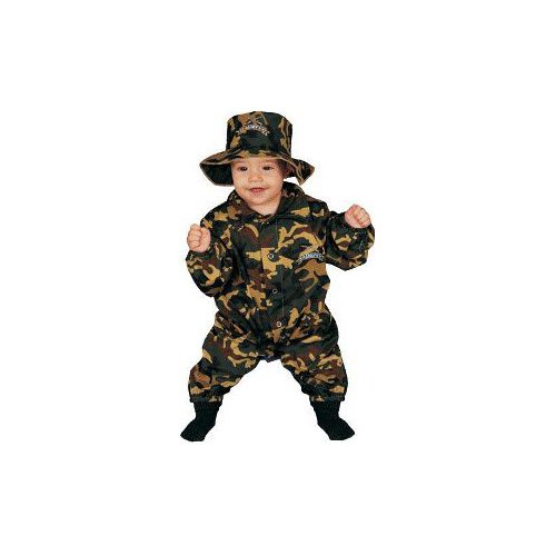 Baby Military Officer Infant Costume Age 0-9mo.