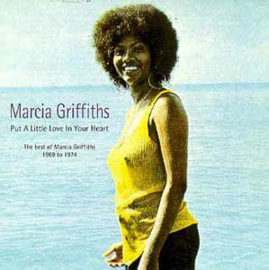 Original album cover of Put a Little Love in Your Heart: The Best of Marcia Griffiths 1969-1974 by Marcia Griffiths