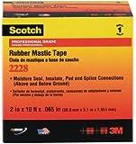 3M COMPANY 2228 Rubber Mastic Tape, 1 x 10-Inch