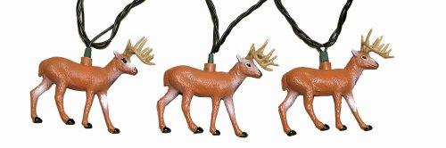 Review Rivers Edge 10-Piece Deer Party Light Set  Best Offer