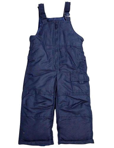 London Fog - Little Boys' Bib Snowpant, Navy 33948-5/6