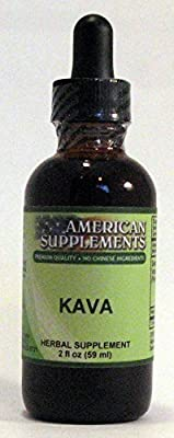Kava No Chinese Ingredients American Supplements 2 oz Liquid