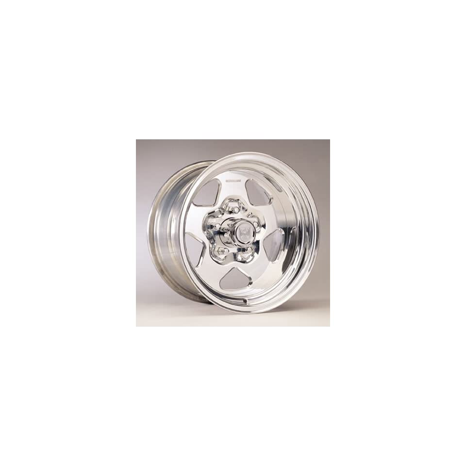 Center Line Wheels 135807545 Wheel, Telstar, Aluminum, Polished, 15 in. x 8 in., 5 x 4.5 in. Bolt Circle, 5.5 in. Backspace, Each