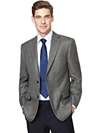 Big & Tall Soft Touch 2 Button Textured Jacket