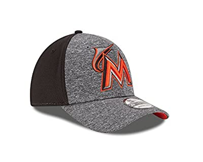 MLB Miami Marlins Tech Fuse 39Thirty Flex Fit Cap