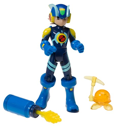 Buy Low Price Mattel Megaman NT Warrior Virus Attack -CrossFusion MegaMan action figure (B0007WB0BE)
