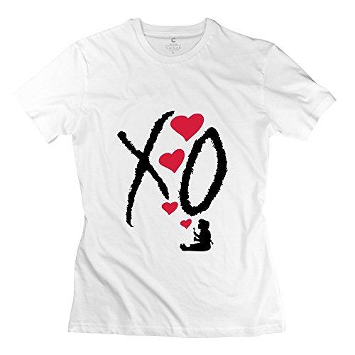 Zhitian Women'S Xo T-Shirt - L White