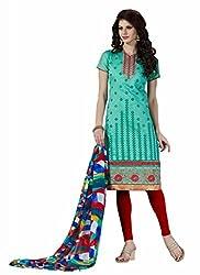 Parinaaz Fashion Chanderi Unstitched Dress Material