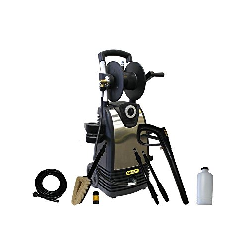 Stanley 1800 Psi 1.4 Gpm Electric Pressure Washer With Accessories Included