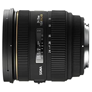 Sigma 24-70mm f/2.8 IF EX DG HSM AF Standard Zoom Lens for Canon Digital SLR Cameras