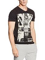 Lonsdale Camiseta Manga Corta Storrington (Negro)