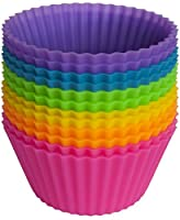 Pantry Elements Silicone Baking Cups - Cupcake Liners
