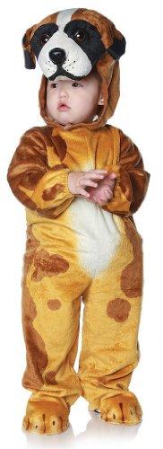 [Baby Saint Bernard Dog Costume Size 18-24 Months] (St Bernard Baby Costumes)