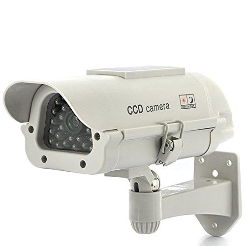 Camera CCTV Factice d'extérieur - Solaire