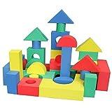 40 Piece Non-Toxic Non-Recycled Quality Foam Wonder Blocks /w Shopping Bag - Waterproof, Soft, Quali