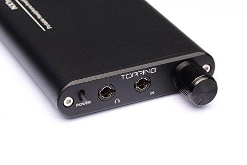 TOPPING NX1A デジタルハイファイヘッドフォンアンプポータブルヘッドフォンアンプ