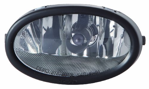 Depo 317-2006L-AS Acura/Honda Driver Side Replacement Fog Light Assembly by Depo