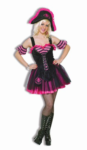 Forum Novelties Women's Dancing Pirate Lass Costume