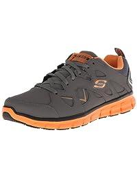 Skechers for Work Men's 76994 Synergy-Tal Slip Resistant Work Shoe
