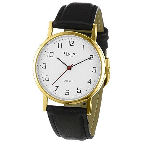 regent-orologio-da-polso-da-donna-elegant-analogico-cinturino-in-pelle-nero-orologio-al-quarzo-quadr