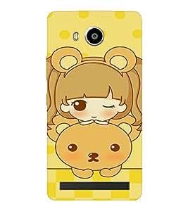 EPICCASE Winking Doll Mobile Back Case Cover For LENOVO A7700 (Designer Case)