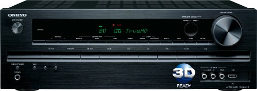 Onkyo TX-SR313 5.1-Channel Home Theater A/V Receiver(Black)