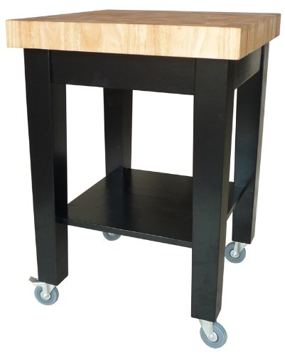 Cheap International Concepts Kitchen Island – Black Base (WC19-2424)