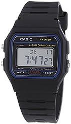 Casio F-91W Digital Watch with Resin Strap