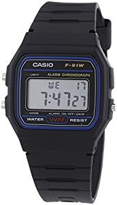 Casio F-91W-1YER Men's Resin Digital Watch