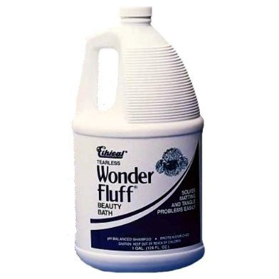 Wonder Fluff Beauty Bath Tearless Pet Shampoo - 1 gal