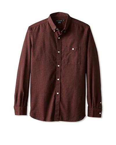 French Connection Men's Grindle Long Sleeve Shirt