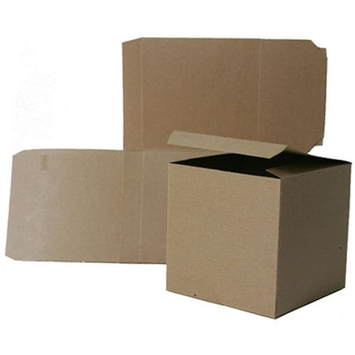 6x6x6 Open Lid Kraft Gift Boxes - Sold individually